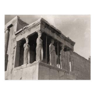 Griechenland, Athen, Akropolis, Parthenon Postkarte