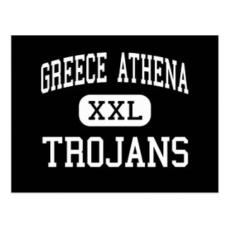 Griechenland Athene - Trojan - hoch - Rochester Postkarte