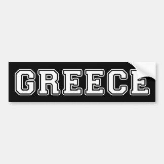 Griechenland Autoaufkleber