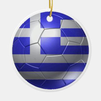 Griechenland-Ball Keramik Ornament
