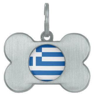 Griechenland-Entwurf Tiermarke
