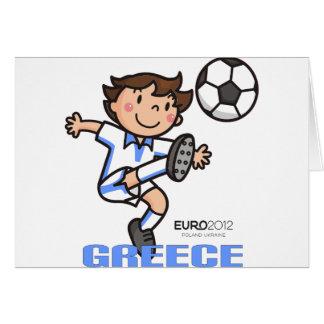 Griechenland - Euro 2012 Karte