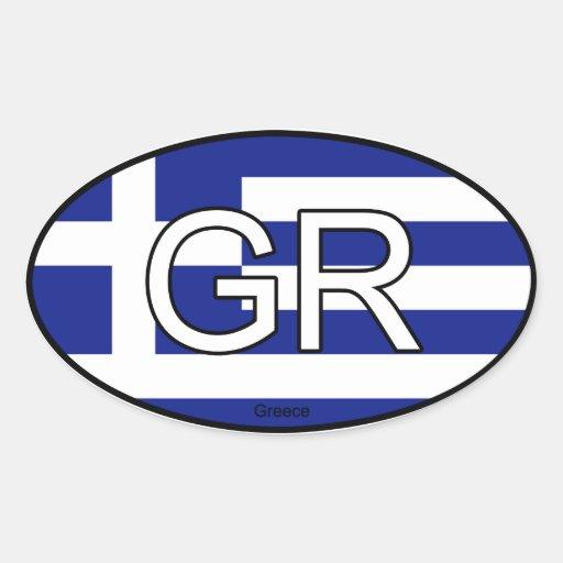 Griechenland-Euro-Aufkleber