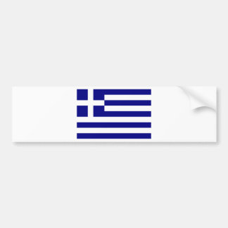 Griechenland-Flagge Autoaufkleber