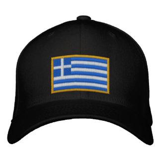 Griechenland-Flagge Bestickte Baseballkappe