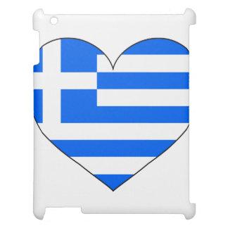 Griechenland-Flagge einfach Hülle Für iPad