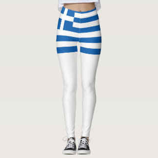 Griechenland-Flagge Leggings