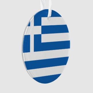 Griechenland-Flagge Ornament