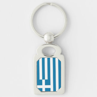 Griechenland-Flagge Schlüsselanhänger