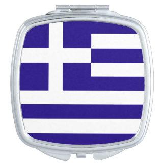 Griechenland-Flagge Schminkspiegel