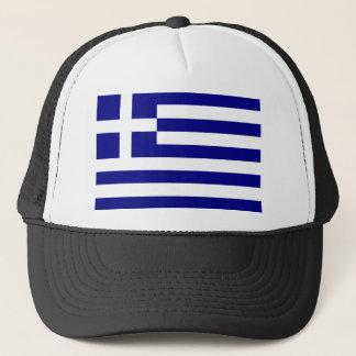 Griechenland-Flagge Truckerkappe