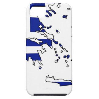 GRIECHENLAND-FLAGGEN-KARTE SCHUTZHÜLLE FÜRS iPhone 5