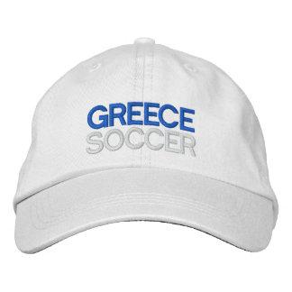 GRIECHENLAND-FUSSBALL BESTICKTE BASEBALLKAPPE