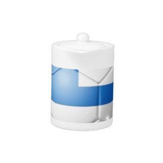 GRIECHENLAND-FUSSBALL-FLAGGE