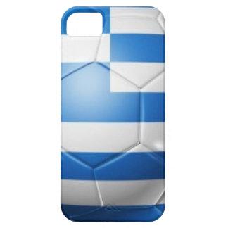 GRIECHENLAND-FUSSBALL-FLAGGE iPhone 5 HÜLLE
