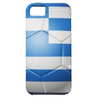 GRIECHENLAND-FUSSBALL-FLAGGE iPhone 5 SCHUTZHÜLLE