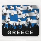 Griechenland-Fußball Mousepad