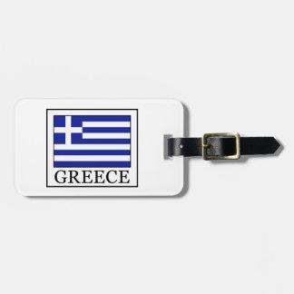 Griechenland Gepäckanhänger