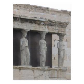Griechenland-Grieche StatuePostcard Postkarte