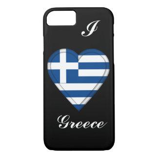 Griechenland-Griecheflagge iPhone 8/7 Hülle