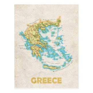 Griechenland-Kartenpostkarte Postkarte