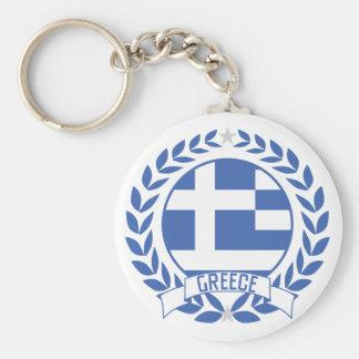 Griechenland-Kranz Schlüsselanhänger