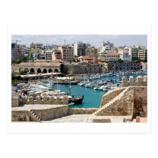 Griechenland Kreta Heraclion Postkarte