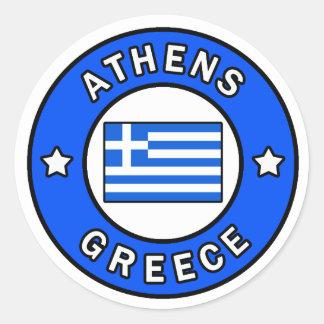 Griechenland Runder Aufkleber