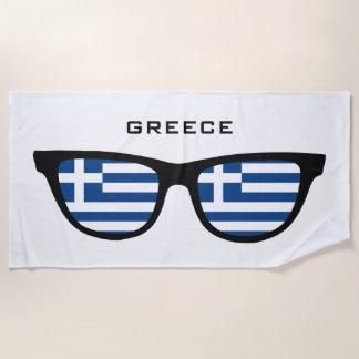 GRIECHENLAND schattiert kundenspezifisches Strandtuch