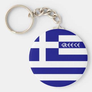 Griechenland Standard Runder Schlüsselanhänger