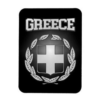 Griechenland-Wappen Eckiger Magnet