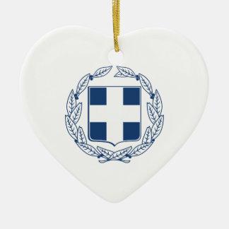 Griechenland-Wappen Keramik Ornament