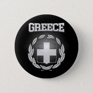 Griechenland-Wappen Runder Button 5,7 Cm