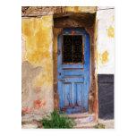 Griechische blaue Tür - Kreta