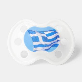 Griechische Flagge in Athen Schnuller