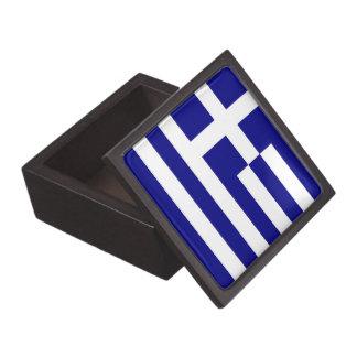 Griechische Flaggen-Prämien-Geschenkboxen Schachtel