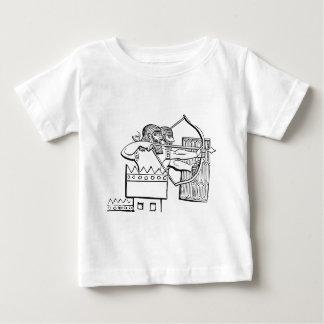 Griechische Kriegers-Kunst Baby T-shirt