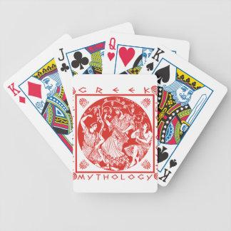 Griechische Mythologie - Rot Spielkarten