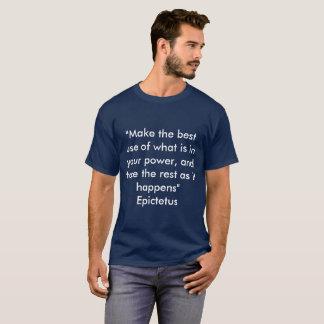 Griechische Philosophie-Epictetus T-Shirt