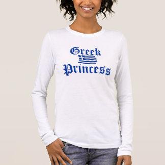 Griechische Prinzessin Langarm T-Shirt