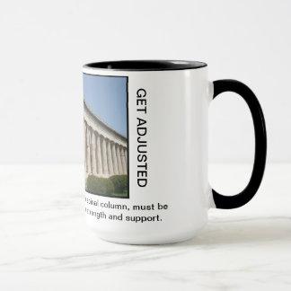 Griechische Spalten der Tasse