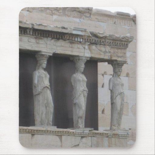 Griechische Statue Mousepad Griechenlands