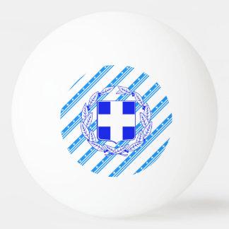 Griechische Streifenflagge Ping-Pong Ball
