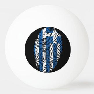 Griechische Touchfingerabdruckflagge Tischtennis Ball
