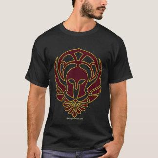 Griechischer Krieger-T - Shirt mit Ilias-Zitat