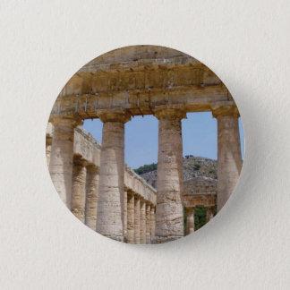 griechischer Marmor Runder Button 5,7 Cm