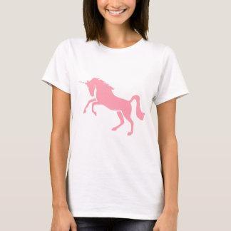 Griechischer mythologischer rosa Einhorn-Entwurf T-Shirt