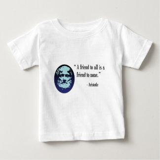 Griechischer Philosophen-Aristoteles-Baby-T - Baby T-shirt