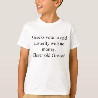 Griechischer Strenge-Spaß T-Shirt