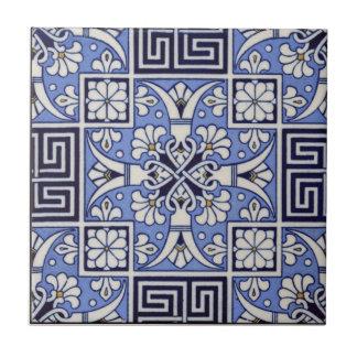 Griechischer Vintager Mintons Entwurf der Fliese